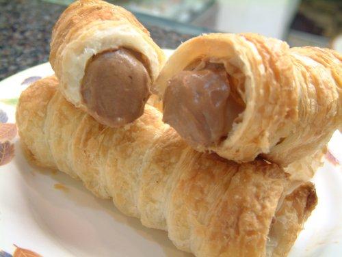 チョココルネ5個セット(サクサクのパイに高級ベルギーチョコ♪)