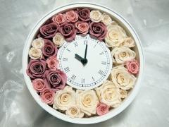 花時計(プリザーブドフラワー)