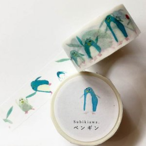 【Subikiawa.】マスキングテープ/ペンギン