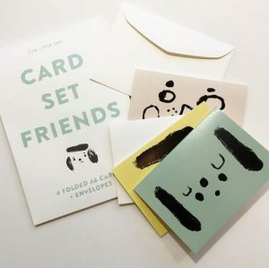 【FINE LITTLE DAY】FRIENDSカード4枚セット(封筒付き)