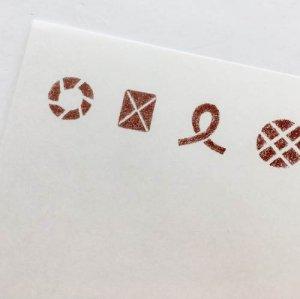 【ノラヤ】クッキーのミニ便箋