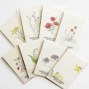 【HUTTE PAPER WORKS】BOTANICAL GARDEN/ポチ袋