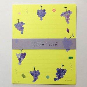 【Subikiawa】手紙6(レターセット)/BUDO