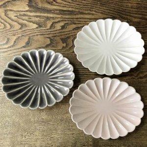 【STUDIO M'】 ブロッサム 6,5寸楕円皿