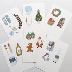 ひらいみも クリスマスポストカード