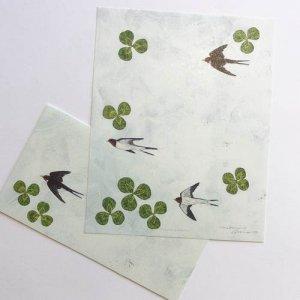 【浅野みどり】レターセット/swallows letter set