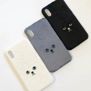 【KEORA KEORA】ネコ ハードiPhoneX/Xsケース