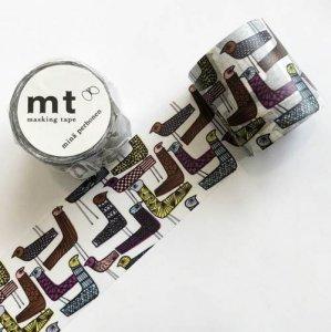 【mt×mina perhonen 】マスキングテープ/mingling