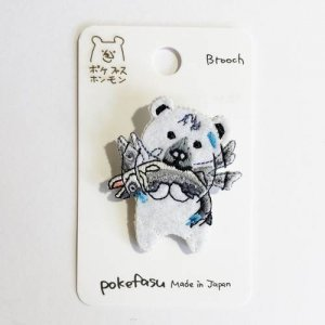 【pokefasu】ピチクマブローチ