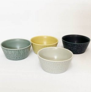 【BIRDS' WORDS】PATTERNED BOWL