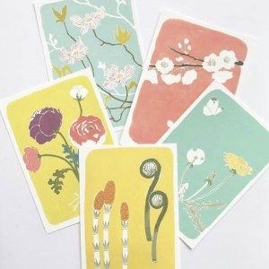 北原明日香 春のポストカード