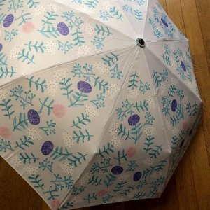 【ALCEDO】flower柄/折りたたみ傘