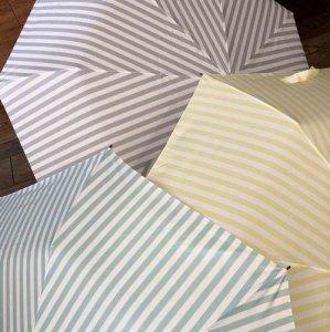 【ALCEDO】stripe柄/折りたたみ傘