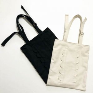 【keiyamaguchi_works】スカラップライントートバッグ
