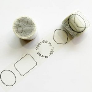【HUTTE PAPER WORKS】マスキングテープ/フレーム(40mm)