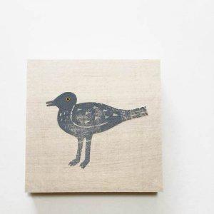 【ノラヤ】貼り絵(壁飾り)/鳥