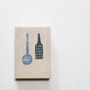 【ノラヤ】貼り絵(壁飾り)/台所道具