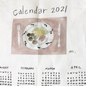 【fog linen work】2021年リネンカレンダー/lunch