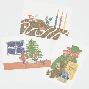 北原明日香 クリスマスポストカード