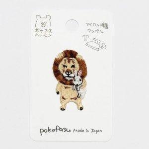 【pokefasu】アイロンワッペン/ライビット