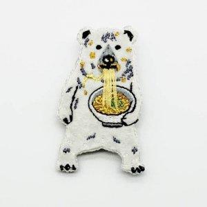 【pokefasu】ブローチ/カレーグマ
