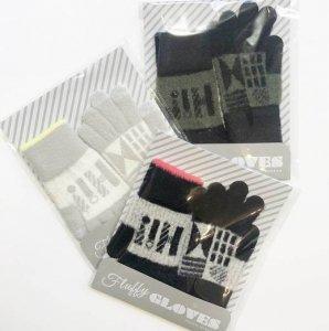 【ALCEDO】fluffy gloves