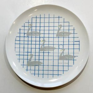 【西淑】メラミン食器/お皿(テーブルの湖)