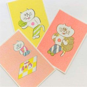 ニシワキタダシ ポストカード3