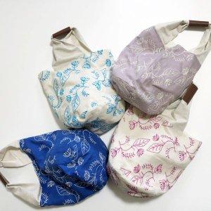 【enn hut(エンハット)】bucket bag/yume-hana