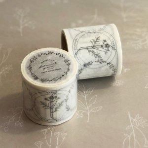 【HUTTE PAPER WORKS】マスキングテープ/botanical frame079(40mm)