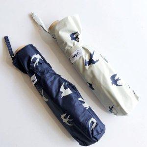 【Wpc.】日傘 折りたたみ傘 遮光軽量/ツバメmini