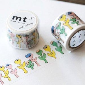 【mt×mina perhonen 】マスキングテープ/ミナペルホネン・bloom