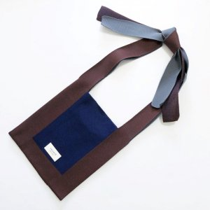 【TRICOTE】ARRANGE KNOT BAG/BROWN
