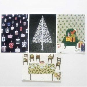 マツモトヨーコ クリスマスポストカード