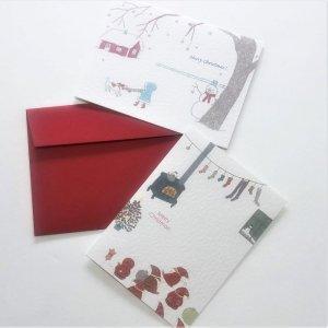 【ひらいみも】クリスマスグリーティングカード