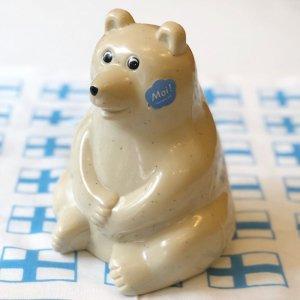Polar Bear Money box(シロクマ貯金箱)/2021年限定マフラー付き