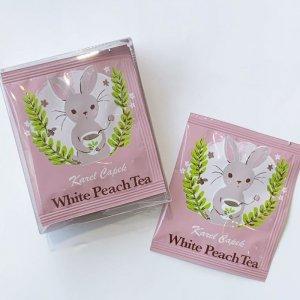 【カレルチャペック紅茶店】ホワイトピーチティー/カップ用ティーバッグ5P