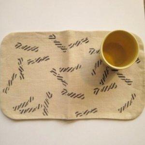 【トモタケ】tea mat-round (ame-chan)