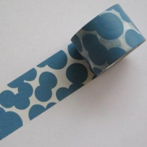 【mt×mina perhonen 】マスキングテープ/ soda water・blue