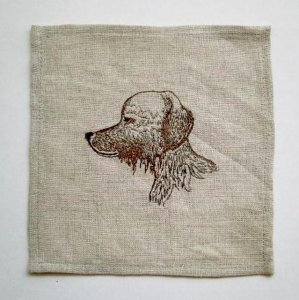 【Coral&Tusk】cocktail napkin(Dogs)G
