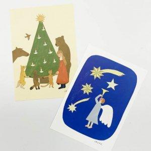 西淑 クリスマスポストカード