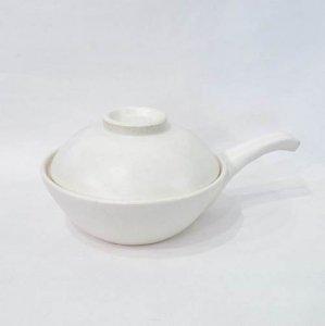 【STUDIO M'】手付き雑炊鍋 白釉