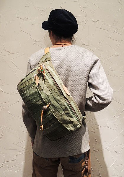 EARLY MORNING×NASNGWAM DAILY WAIST BAG Lサイズ イメージ4