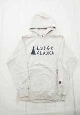 TACOMA FUJI RECORDS(タコマフジレコーズ) Lodge ALASKA HOODIE designed by Matt Leines カラー:オートミール<img class='new_mark_img2' src='//img.shop-pro.jp/img/new/icons50.gif' style='border:none;display:inline;margin:0px;padding:0px;width:auto;' />