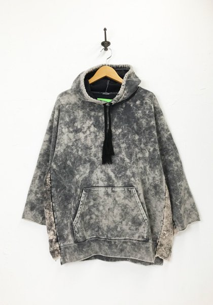 VOO(ヴォー) D.I.Y DYED PARKA カラー:ブラック