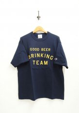 TACOMA FUJI RECORDS(タコマフジレコーズ) GOOD BEER DRINKING TEAM designed by Shuntaro Watanabe カラー:ネイビー<img class='new_mark_img2' src='https://img.shop-pro.jp/img/new/icons50.gif' style='border:none;display:inline;margin:0px;padding:0px;width:auto;' />