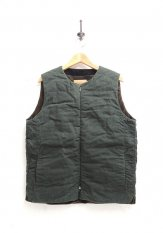 VOO(ヴォー) WAXED TRICKY VEST / ベスト カラー:グリーン