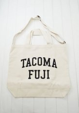TACOMA FUJI RECORDS(タコマフジレコード) COLLEGE LOGO TOTE designed by Shuntaro Watanabe<img class='new_mark_img2' src='https://img.shop-pro.jp/img/new/icons50.gif' style='border:none;display:inline;margin:0px;padding:0px;width:auto;' />