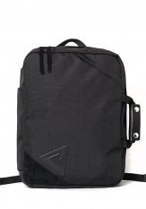 ANONYM CRAFTSMAN DESIGN(アノニムクラフツマンデザイン) 9H 2WAY BACKPACK (BLACK)