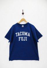 TACOMA FUJI RECORDS(タコマフジレコード)  COLLGE LOGO designed by Shuntaro Watanabe カラー:ネイビー